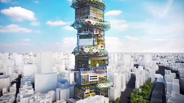 Budova je uzpůsobena pro spolupráci digitálních a fyzických činitelů