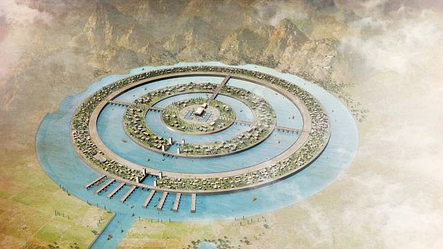 Atlantida měla být podle Platonových popisů úrodnou a hustě zalidněnou zemí