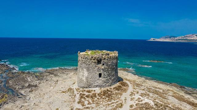 Záhadné obří megality na Sardinii