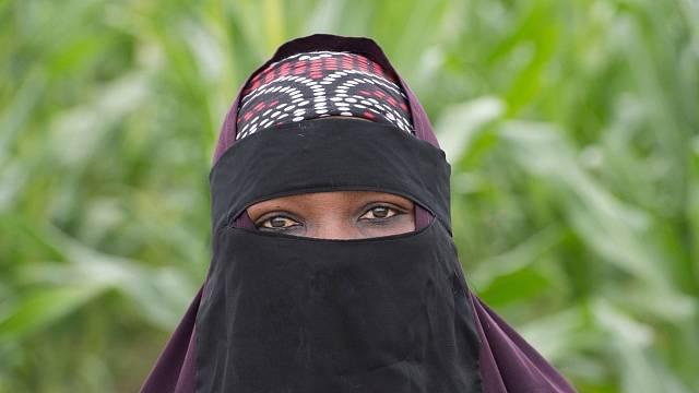 Somálská běženkyně.
