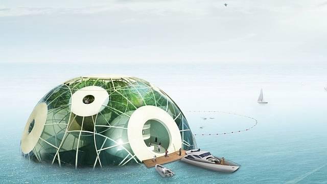 Plovoucí farmy zajistí snížení globálního oteplování