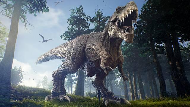 Tyrannosaurus rex je jakousi celebritou mezi dinosaury.