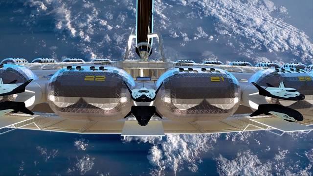 První vesmírný hotel se má otevřít v roce 2027