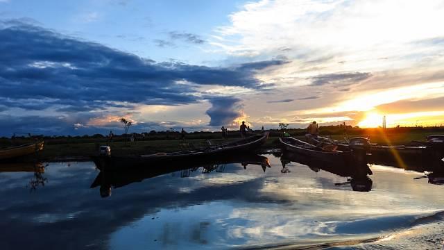 Západy slunce v Amazonii
