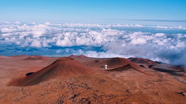Vulkanické krátery Mauny Loe