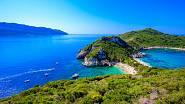 Korfu, nejzelenější z řeckých ostrovů.