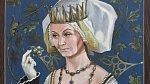Královna z Filmu Tři oříšky pro Popelku.