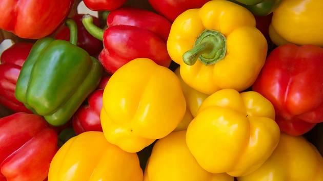 Cena paprik překročila 100 Kč za kilogram.
