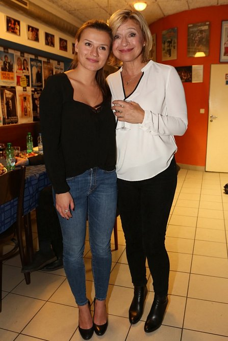 Jana Paulová s dcerou Anežkou