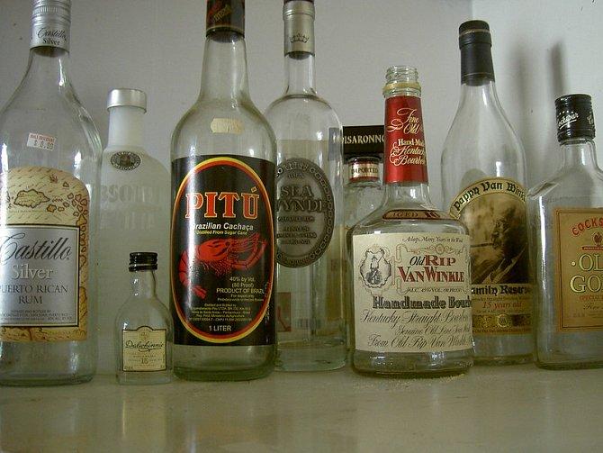 Stále jsem vyhazovala prázdné lahve