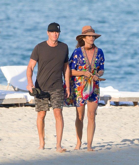 Cindy Crawford s manželem