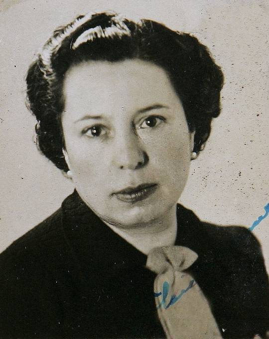 Gisi Fleischmann, nedatovaný portrét