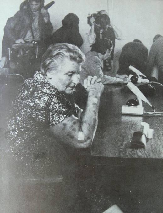 Hildegard Martha Lächert. Znovuobnovení procesu v roce 19752.