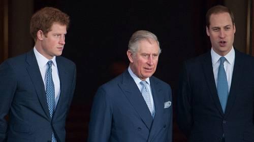 Princ Charles se svými syny