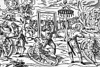 Poprava domnělého vlkodlaka Petera Stumppa v r. 1589