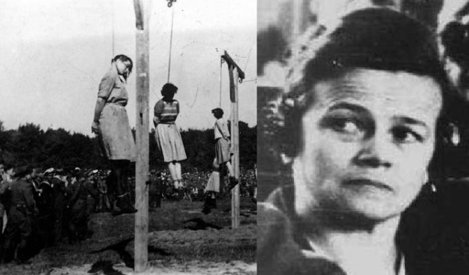 Ruth Closius-Neudeck, jedna z nejkrutějších ženských stráží v Ravensbrücku.