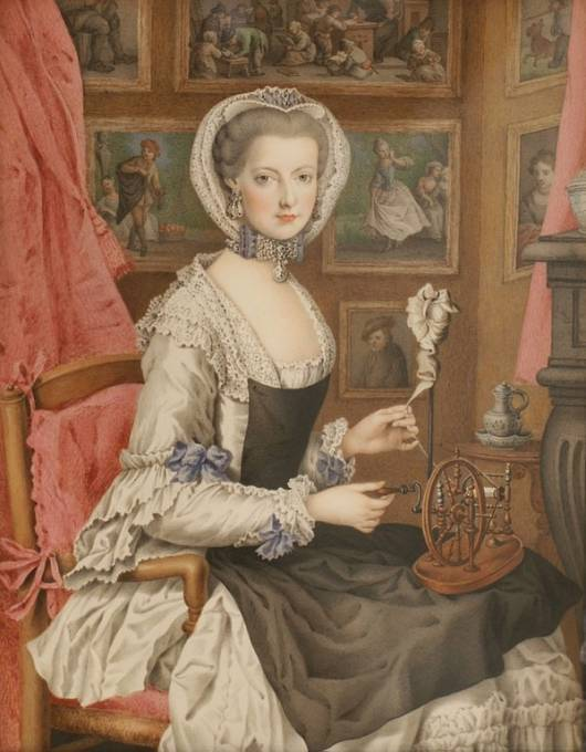 Marie Kristina měla u matky protekci.