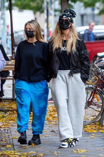 Heidi Klum se svou dcerou Leni