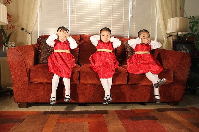 Tři kouzelné holčičky…