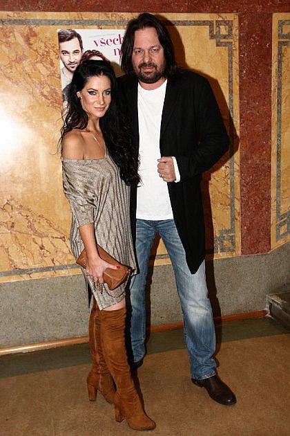 Jiří Pomeje s ženou Andreou