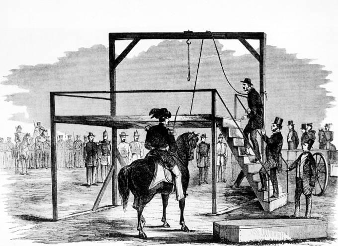 Rozvášněný dav museli často krotit vojáci.