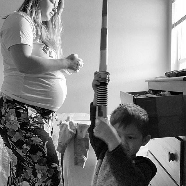 Mackenzie se stala náhradní matkou.