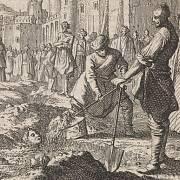 Infanticida se ve středověku trestala zahrabáním zaživa.