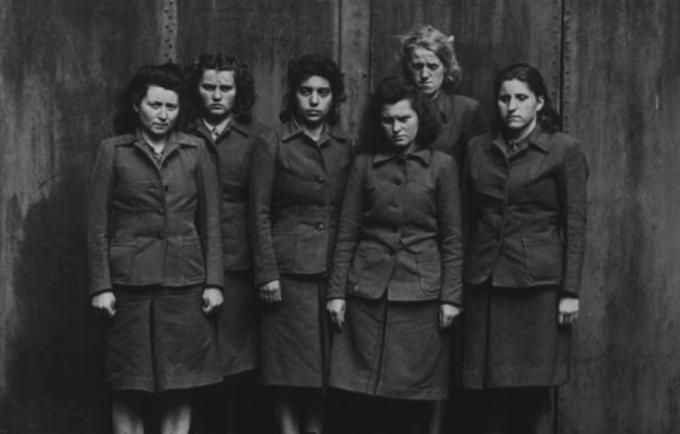 Dozorkyně z koncentračního tábora Bergen-Belsen.