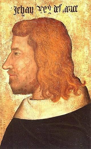 Jan II. Francouzský, Karlův tchán