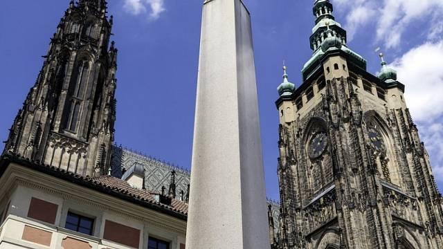 Obelisk na Pražském hradě