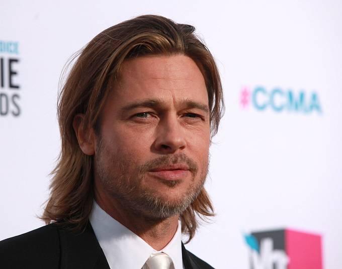 ...až jsme se dostali k jemnější kráse Brada Pitta.