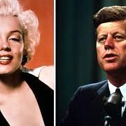 Marilyn Monroe a J.F. Kennedy