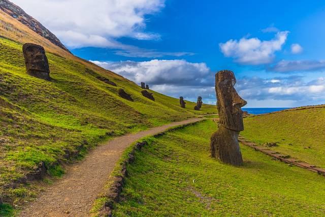 Velikonoční ostrov v Chile, Jižní Amerika