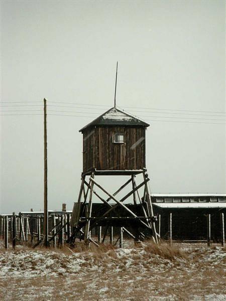 Koncentrační tábor Majdanek.