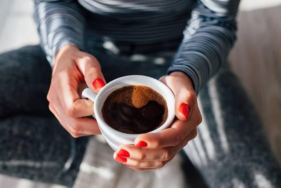Káva je velice oblíbená.