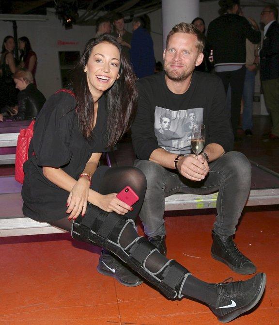Agáta Prachařová s manželem