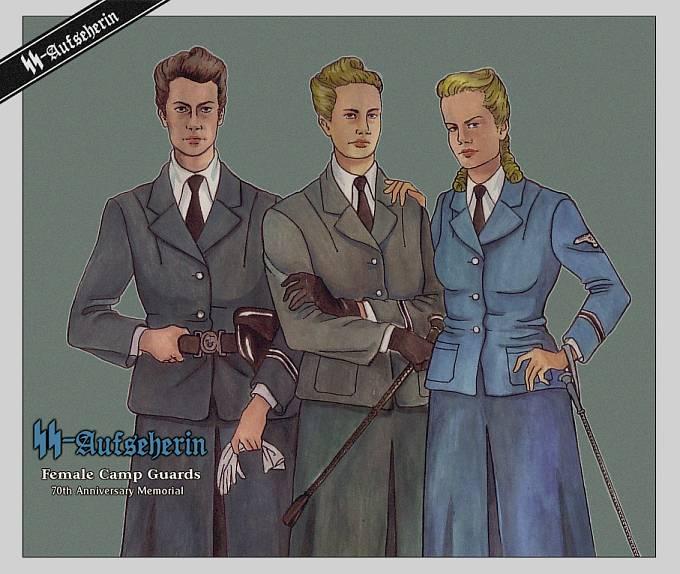 Aufseherinnen byly ženské stráže v nacistických koncentračních táborech.