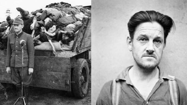 Franz Hössler, nacistický velitel koncentračních táborů.
