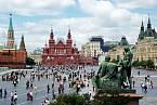 KGB demonstranty zbilo a zatklo během několika minut.