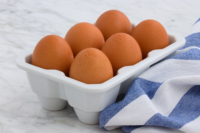 Vitamín A obsahuje vejce.