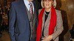 Petr Nárožný s manželkou