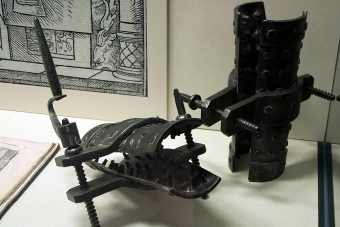 Španělská bota představovala střední stupeň mučení.
