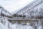 Teploty v oblasti v zimě padají k -50°C.