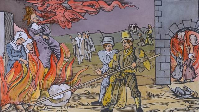 Hony na čarodějnice se v Evropě rozmohly až na úsvitu novověku.