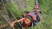 Cesta do školy jako adrenalinový sport
