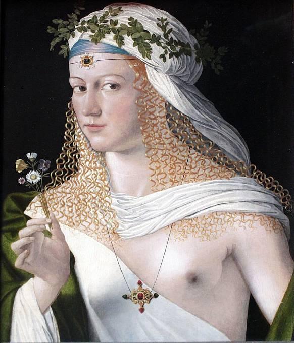 Lucrezia Borgia, autor: Bartolomeo Veneto