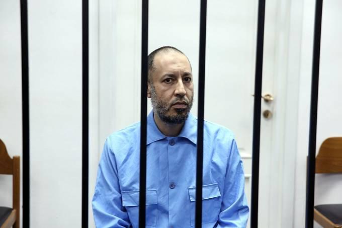 Kaddáfího syn Saadí ve vězení