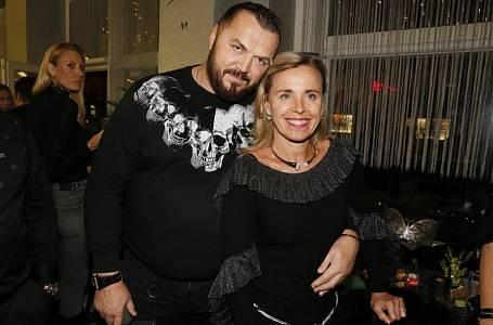 Jan Kočka s manželkou