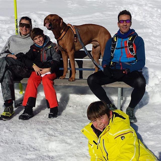 Alena Šeredová s dětmi