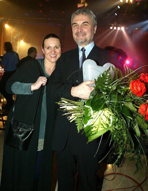 Vladimír Čech s manželkou